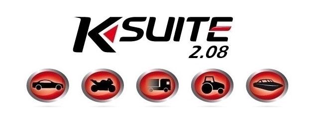 KSuite Version 2.08 Software Update